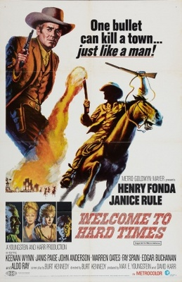 Welcome to Hard Times movie poster (1967) poster MOV_b6e6ed36