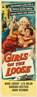 Girls on the Loose movie poster (1958) picture MOV_b707cdb4