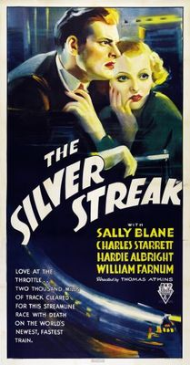 The Silver Streak movie poster (1934) poster MOV_b72ea4fe