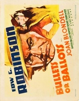 Bullets or Ballots movie poster (1936) picture MOV_b72f9c45