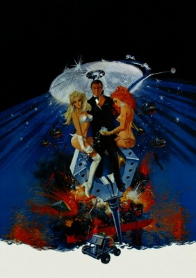 Diamonds Are Forever movie poster (1971) poster MOV_b73218a0