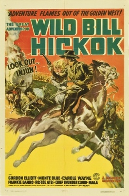 The Great Adventures of Wild Bill Hickok movie poster (1938) poster MOV_b7331a13