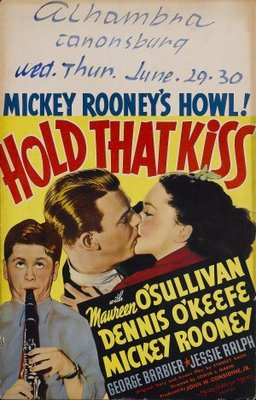 Hold That Kiss movie poster (1938) poster MOV_b739954f