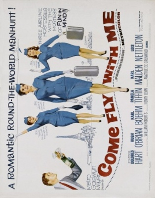 Come Fly with Me movie poster (1963) poster MOV_b7400998