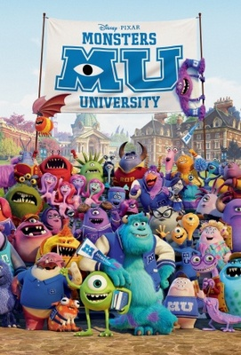 Monsters University movie poster (2013) poster MOV_b74976fa