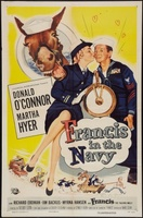 Francis in the Navy movie poster (1955) picture MOV_b74e8796