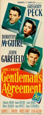 Gentleman's Agreement movie poster (1947) poster MOV_b75d0c5e