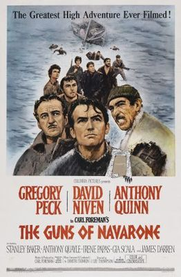 The Guns of Navarone movie poster (1961) poster MOV_b7698450