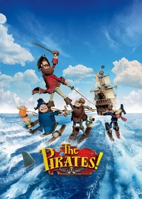 The Pirates! Band of Misfits movie poster (2012) poster MOV_b76d691c
