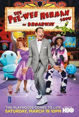 The Pee-Wee Herman Show on Broadway movie poster (2011) poster MOV_b7715d84