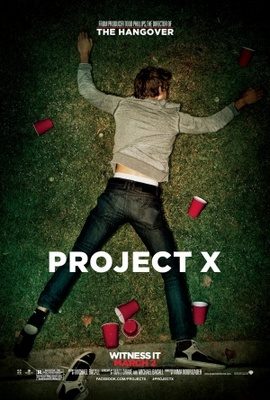 Project X movie poster (2012) poster MOV_b78c4170