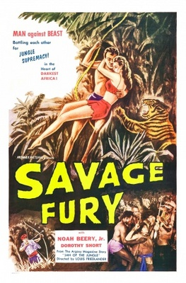 Savage Fury movie poster (1956) poster MOV_b7a0c85c
