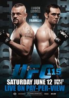 UFC 115: Liddell vs. Franklin movie poster (2010) picture MOV_b7b19208