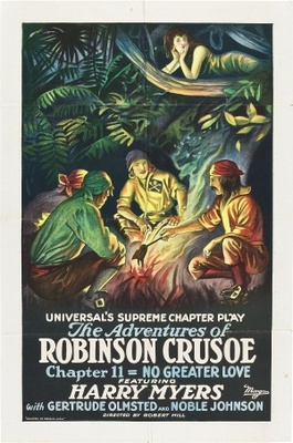 The Adventures of Robinson Crusoe movie poster (1922) poster MOV_b7f75f8b
