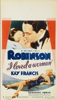 I Loved a Woman movie poster (1933) picture MOV_b81322db