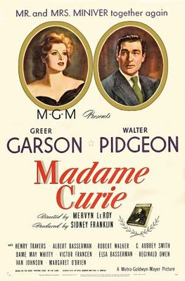 Madame Curie movie poster (1943) poster MOV_b81a8124