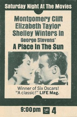 A Place in the Sun movie poster (1951) poster MOV_b81de0b0