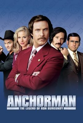 Anchorman: The Legend of Ron Burgundy movie poster (2004) poster MOV_b82dadbe