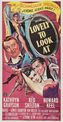 Lovely to Look at movie poster (1952) poster MOV_b83a6ab9