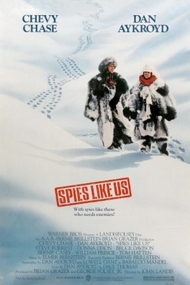 Spies Like Us movie poster (1985) poster MOV_b83b24ba