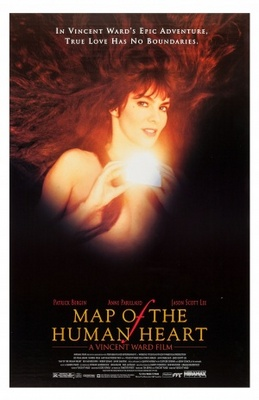 Map of the Human Heart movie poster (1993) poster MOV_b8439faa