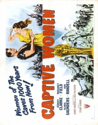 Captive Women movie poster (1952) poster MOV_b86dffc7