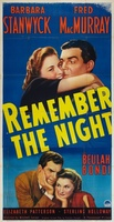 Remember the Night movie poster (1940) picture MOV_b8732f9e