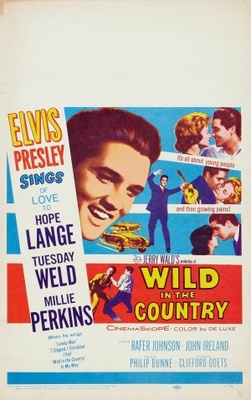 Wild in the Country movie poster (1961) poster MOV_b8785087
