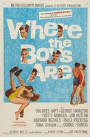 Where the Boys Are movie poster (1960) picture MOV_383e7d7c