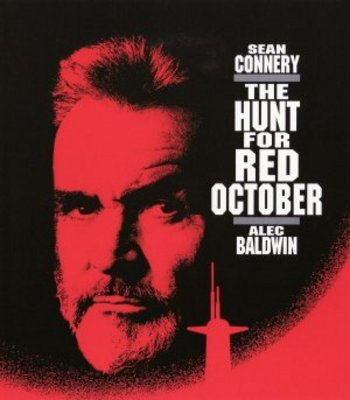 The Hunt for Red October movie poster (1990) poster MOV_b8a522ee