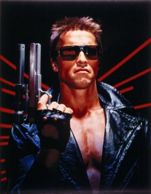 The Terminator movie poster (1984) poster MOV_b8a9a19b