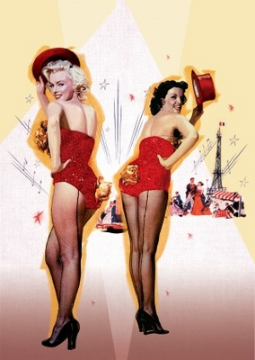 Gentlemen Prefer Blondes movie poster (1953) poster MOV_b8acf866