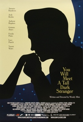 You Will Meet a Tall Dark Stranger movie poster (2010) poster MOV_b8adf026