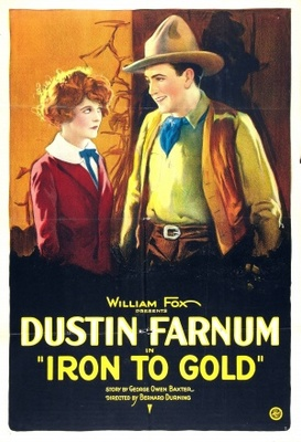 Iron to Gold movie poster (1922) poster MOV_b8b949f5