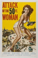 Attack of the 50 Foot Woman movie poster (1958) picture MOV_b8b9505a