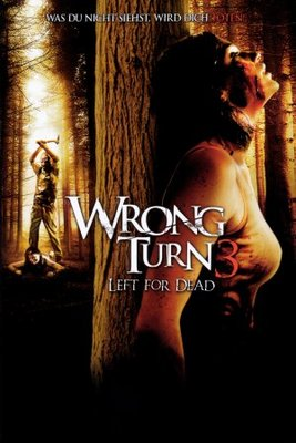 Wrong Turn 3 movie poster (2009) poster MOV_b8c1b066