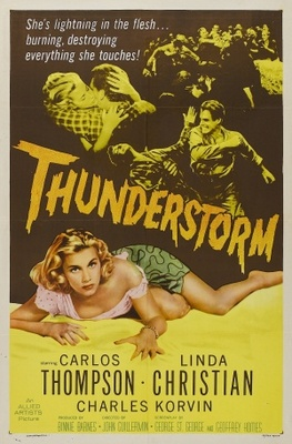 Thunderstorm movie poster (1956) poster MOV_b8d0e88e