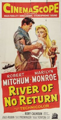 River of No Return movie poster (1954) poster MOV_b8d1b801