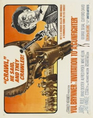 Invitation to a Gunfighter movie poster (1964) poster MOV_b8d41d92