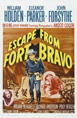 Escape from Fort Bravo movie poster (1953) poster MOV_b8e5acfe