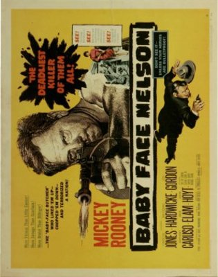 Baby Face Nelson movie poster (1957) poster MOV_b8e6436f