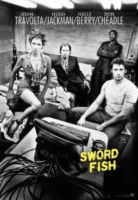 Swordfish movie poster (2001) poster MOV_b8eae929