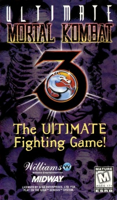 Ultimate Mortal Kombat 3 movie poster (1995) poster
