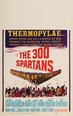 The 300 Spartans movie poster (1962) poster MOV_b9021582