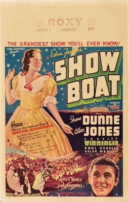 Show Boat movie poster (1936) poster MOV_b90c1297