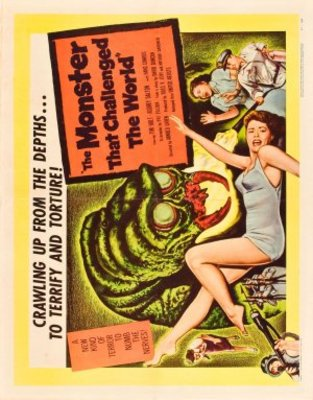 The Monster That Challenged the World movie poster (1957) poster MOV_b90e5605