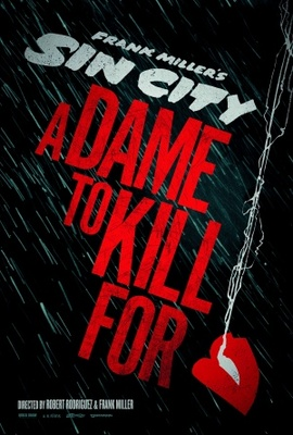 Sin City: A Dame to Kill For movie poster (2013) poster MOV_b90f72a4