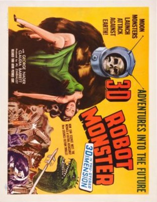 Robot Monster movie poster (1953) poster MOV_b91ef022