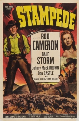 Stampede movie poster (1949) poster MOV_b91f0fe5