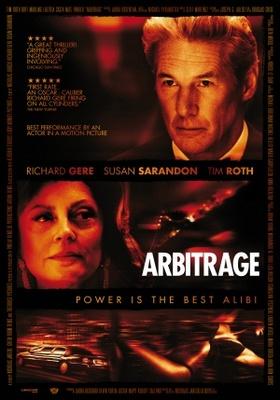Arbitrage movie poster (2012) poster MOV_b9269e95
